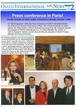OSATO Internationnal NEWS(English) Vol.2