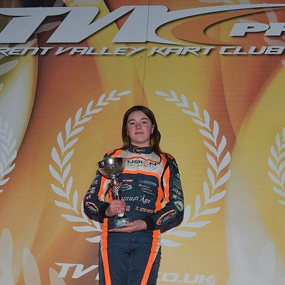 Kart racer Ella Stevens, supported by Immun'Âge, Selected for FIA Girls on Track-Rising Stars Program