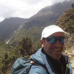 Marathon man Proceeded to Nepal for