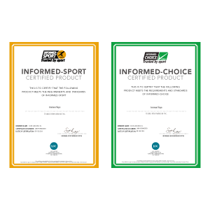 Immun'Âge has been certified by global Anti-doping Program  to give reassurance to athletes about the safety of our products.