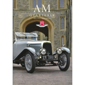 Immun' Âge advertisement appearsin a quarterly magazine for Aston Martin Owners.