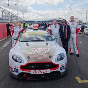 First attempt at 24-hour race of Silverstone by Aston Martin CEO, Andy Palmer
